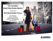 Canadian Economic Summary - Real Estate Forums