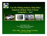 Can The Mining Industry Help Other Industries Reduce Their ...