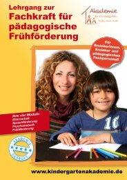 PDF-Download - Akademie für Kindergarten, Kita und Hort