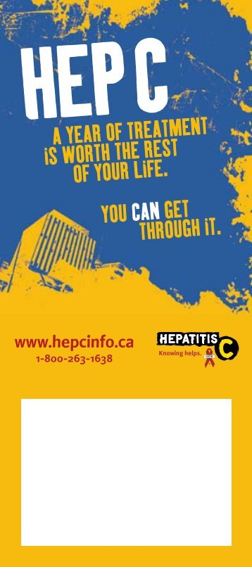 Hep C. A year of treatment is worth - CATIE