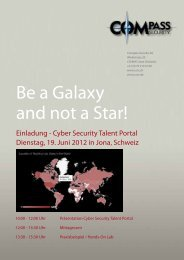 Be a Galaxy and not a Star! - Hacking-Lab