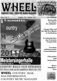 wheel - Herbert Arnold Country Music Verlag