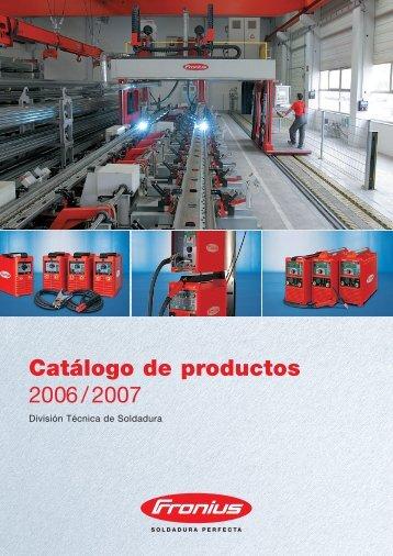 Product catalogue 2006/2007 - dpiaca