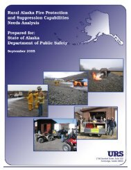Rural Alaska Fire Protection and Suppression Capabilities Needs ...