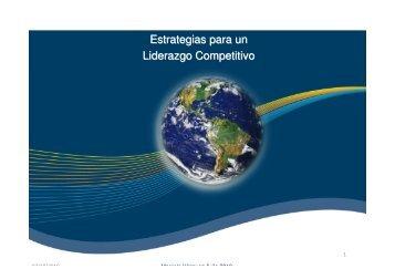 Estrategias para un Liderazgo Competitivo