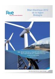 Bilan électrique 2012 de la région Bretagne - RTE