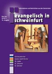 Termine - Citykirche Schweinfurt