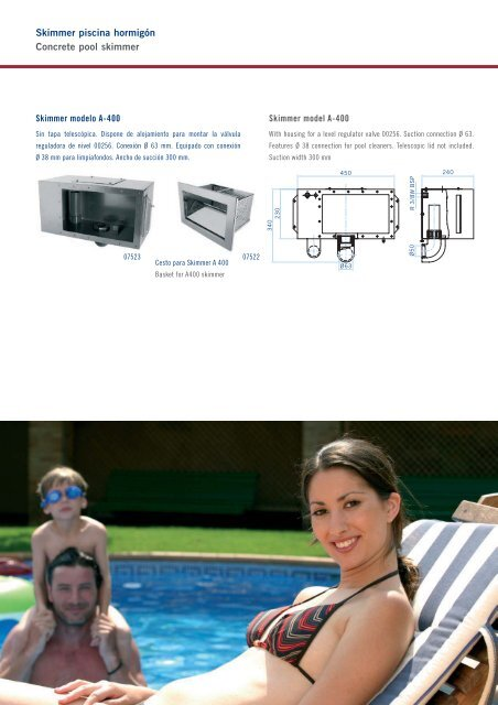 Stainless Steel pool accessories Accesorios para ... - Partnerline AS