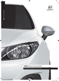 Prijslijst SEAT Ibiza ECO per 01-03-2011.pdf - Fleetwise