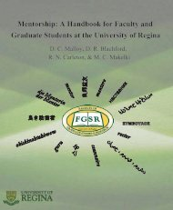 Mentorship: A Handbook for Faculty and Graduate Students at the ...