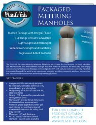 PM-3.01.10 - Packaged Metering Manholes.pdf - Plasti-Fab, Inc.