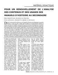 ÉTHIER LEFRANCOIS - Société des professeurs d'histoire du Québec