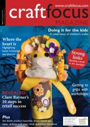 PDF: Low-resolution (8Mb) - Craft Focus Magazine