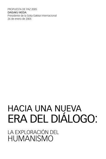 Hacia una nueva era de diálogo - Futuros