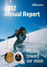 Annual Report 2012 - GlobeNewswire