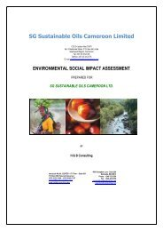Environmental and Social Impact Assessment - Oakland Institute