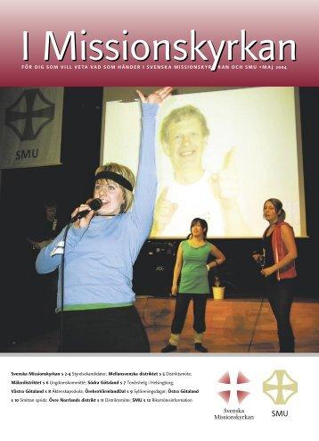 IMiK maj 04.indd - Svenska Missionskyrkan