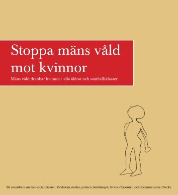 Stoppa mäns våld mot kvinnor - Nacka kommun