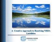 A Creative Approach To Resolving NRDA Liabilities - NSRP