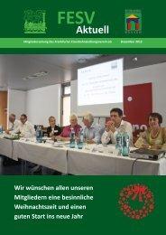 Das aktuelle Magazin können Sie als PDF herunterladen. - FESV ...
