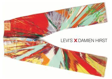 Damien Hirst finds a new canvas - Levi's