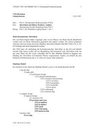 Partial Model Hydromechanics