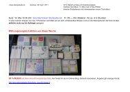 Kurs: 14. Mai 10.30 Uhr Grundtechniken Stempelkunst, Fr. 55.— inkl ...