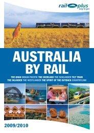 Australia by rail - Rail Plus