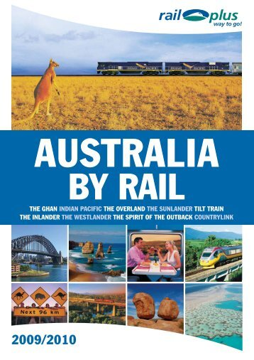 Australia by rail - Rail Plus