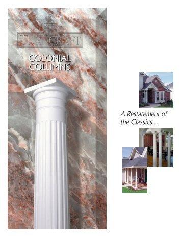 colonial column catalog