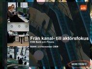 EDB Bank och Finans Sverige - IDG