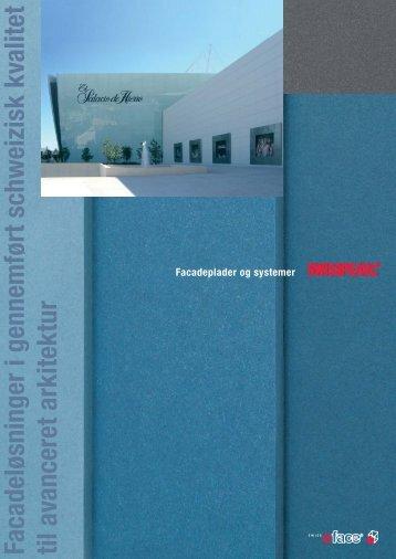 Facadeplader og systemer - Moland