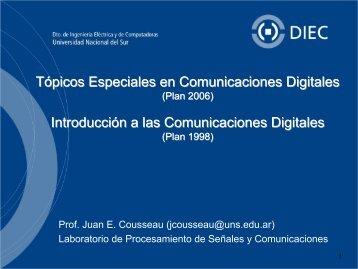 Una breve síntesis del porqué de las comunicaciones digitales