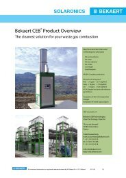 Bekaert CEB® Product Overview