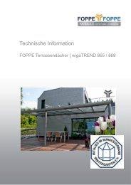 Technische Information - FOPPE und FOPPE