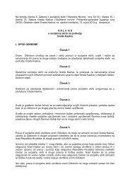 Odluka o socijalnoj skrbi na podrucju Grada Kastva - Grad Kastav