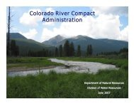 Colorado River Compact Administration - Colorado Division of ...