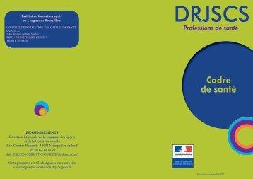 Diplome Cadre de santé - DRJSCS