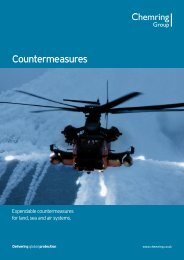 Countermeasures brochure - Chemring Group PLC