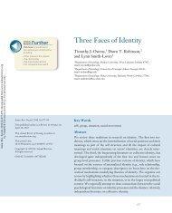 Three Faces of Identity - Majorsmatter.net