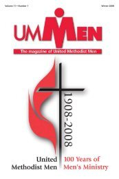 Volume 11 • Number 1 Winter 2008 - United Methodist Men