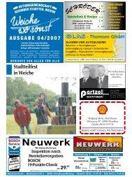 Ausgabe 04/2007 - ETSV Weiche