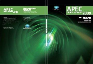 APEC Energy Statistics 2008