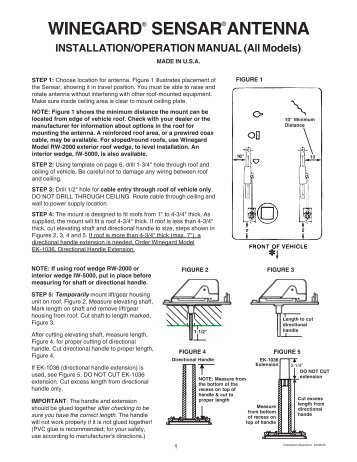 Winegard rv antenna wiring diagram free download wiring diagrams rv wall plate amplifier winegard on tv antenna wiring diagram for winegard sensar antenna installation operation swarovskicordoba Gallery