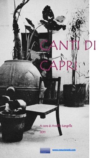 I Canti di Capri - Vesuvioweb