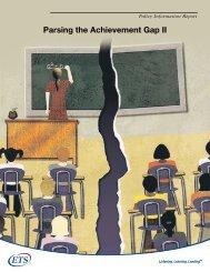 Parsing the Achievement Gap II - Eric - U.S. Department of Education