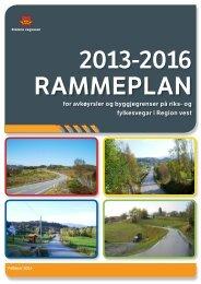 Rammeplan 2013-2016 - Politiske saker
