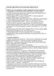 ZASADY ORGANIZACJI WYCIECZEK SZKOLNYCH Podstawy ...