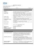 Master safety data sheet (HU) - Kerex-Óbuda Kft. - Page 5