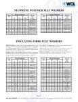 Neoprene Polymer Flat Washers - West Coast Lockwasher - WCL ... - Page 2